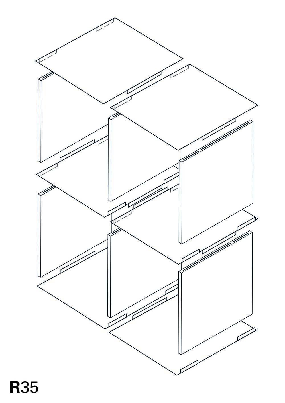 R35 – Modulares Regalsystem