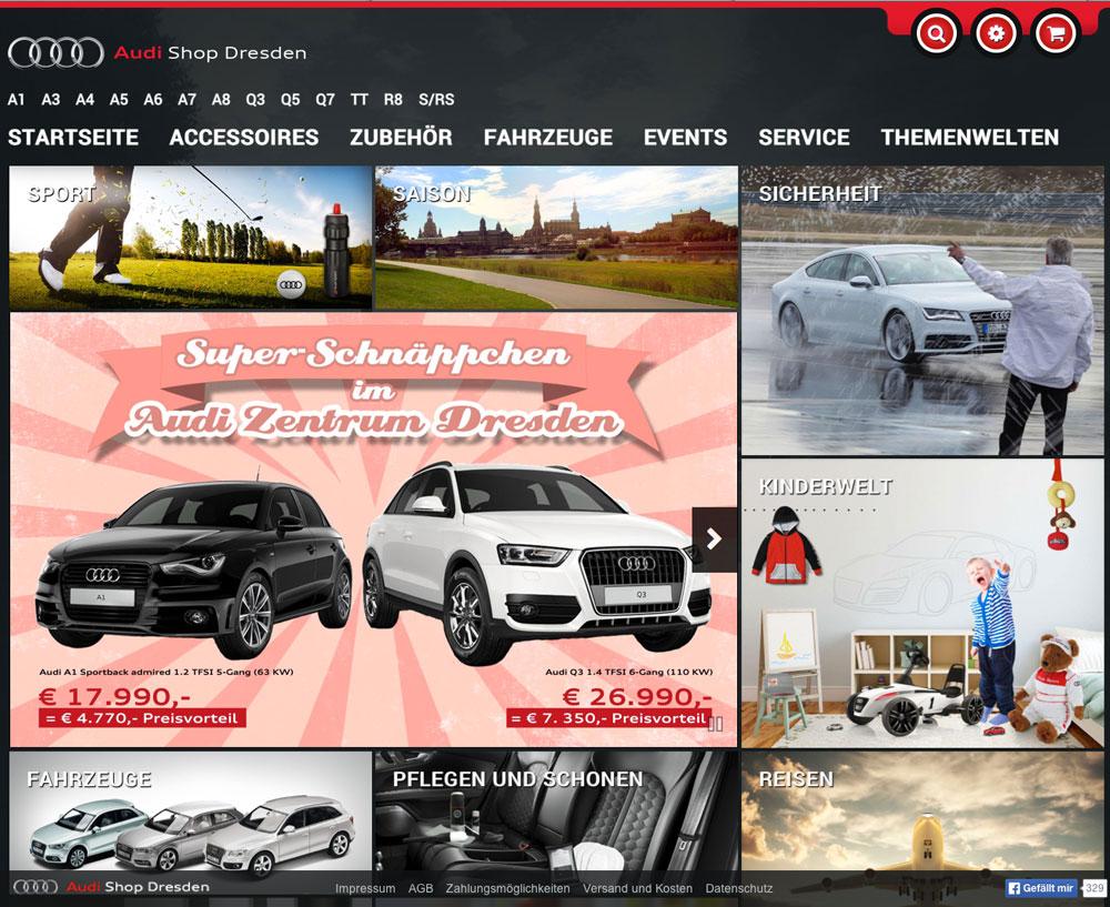 Audi Shop Dresden