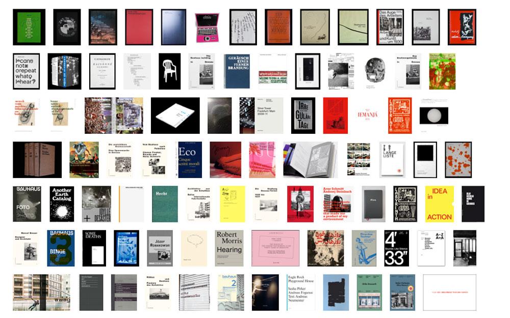 Auswahl aus dem Verlagsprogramm Spector Books 2012-2014