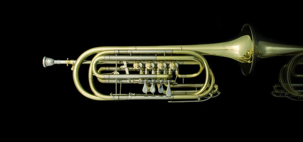 Basstrompete in C