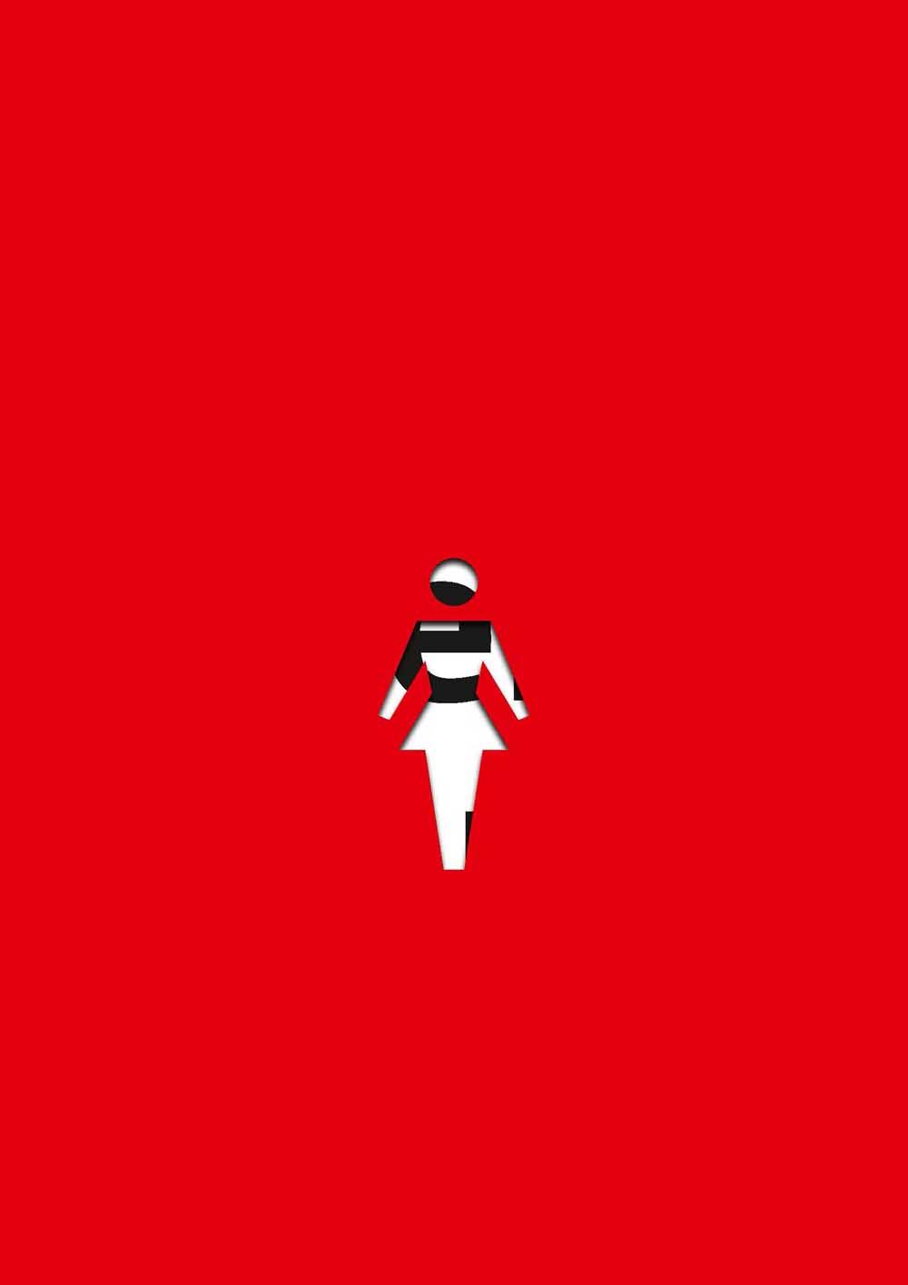 Die Zukunft ist eine Frau.