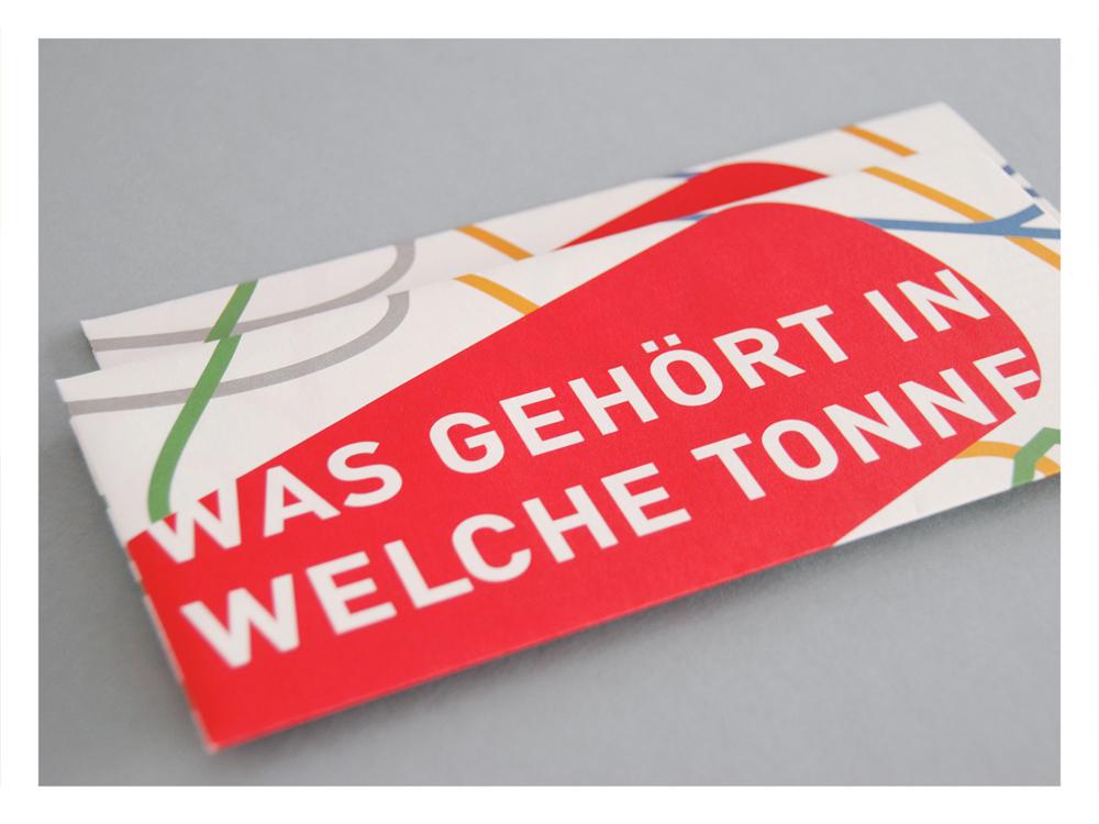 Stadtreinigung Leipzig Flyer Abfallberatung