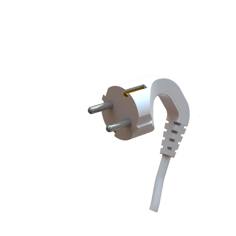 Schuko-plug-twisted