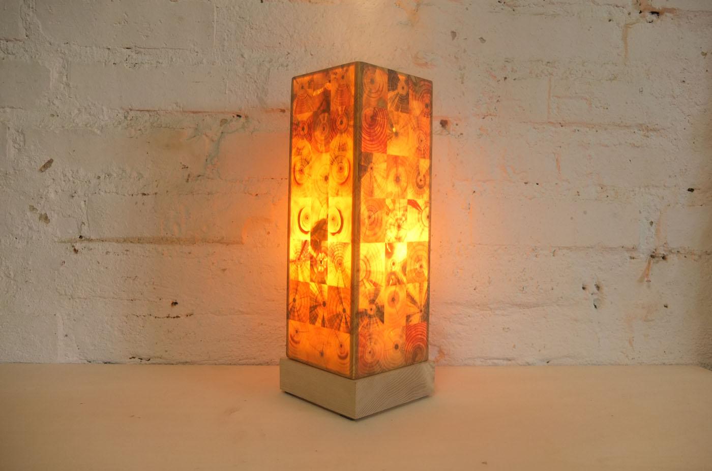 holz leuchtet designerlampen aus hirnholz s chsischer. Black Bedroom Furniture Sets. Home Design Ideas