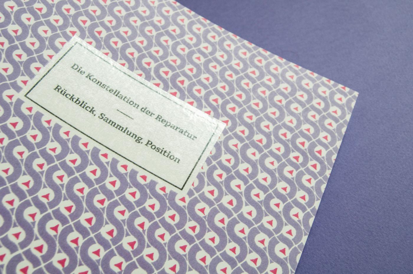 Die Konstellation der Reparatur – Rückblick, Sammlung, Position