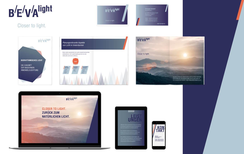 BEVAlight – Markenentwicklung und Corporate Design