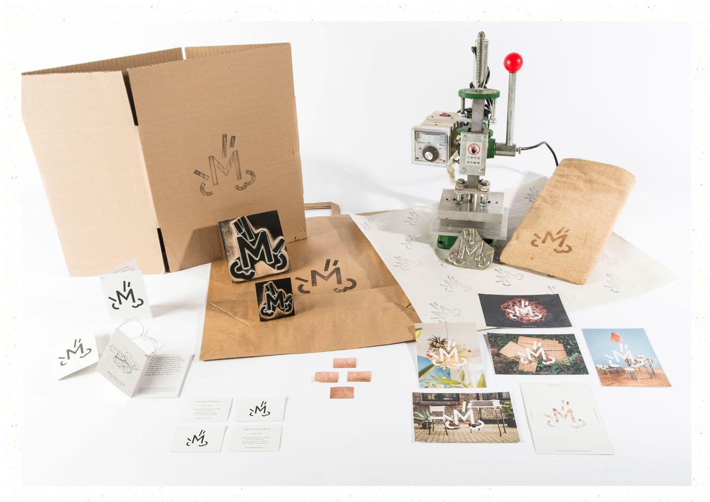 Corporate Design, Grafikdesign und Webdesign für M E G A L O M A N I A