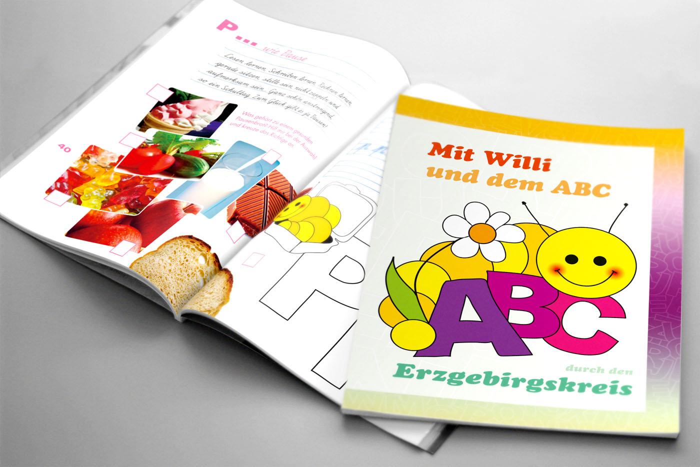 ABC-Heft für Schulanfänger
