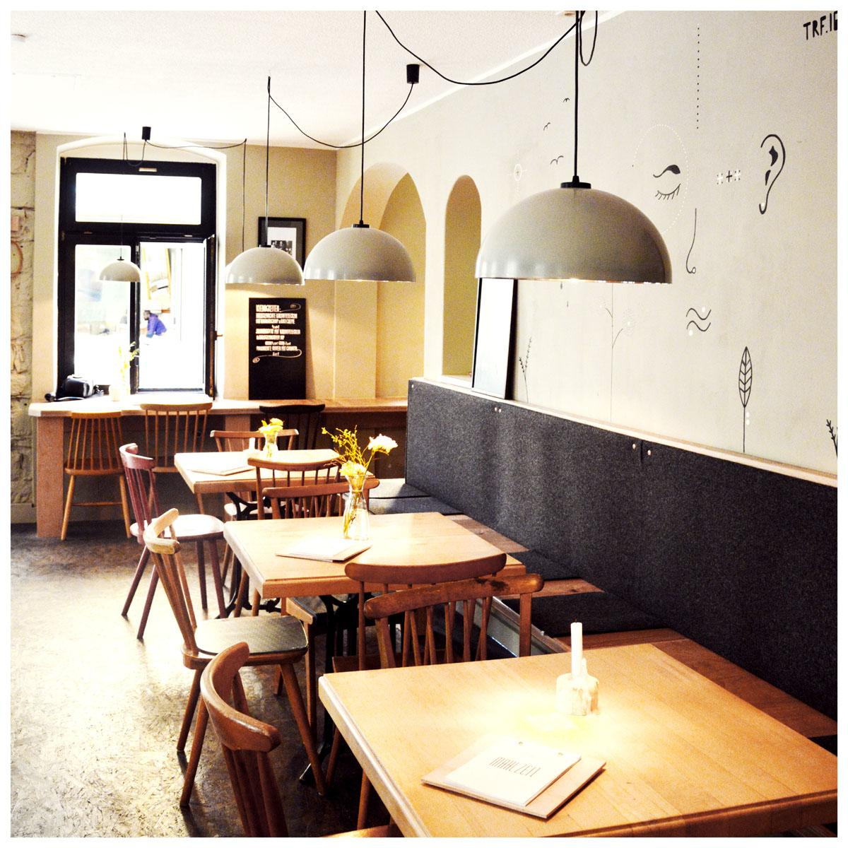 Nachhaltiges Interior - + Produktdesign für das vegane Restaurant Steffenhagen