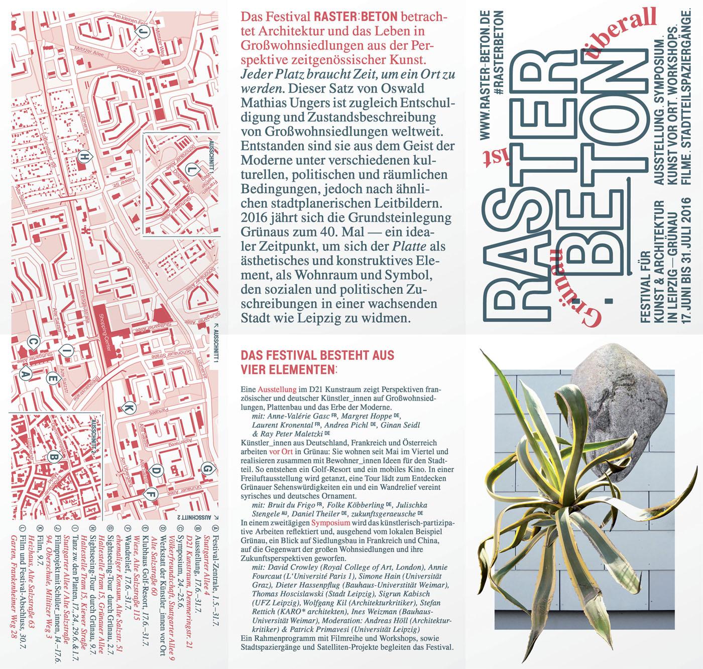RASTER : BETON | Sächsischer Staatspreis für Design 2016