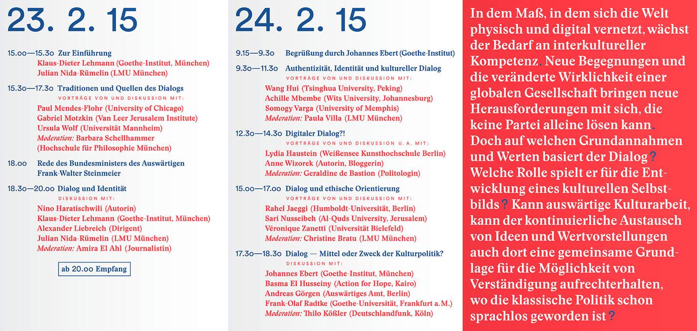 """Konferenz """"Dialog und die Erfahrung des Anderen"""""""