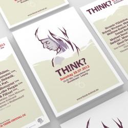 Erscheinungsbild THINK Festival 2013