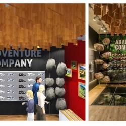 """Shopkonzept """"adco"""": 360°-Inszenierung eines Outdoor-Geschäfts, Retail-Design"""