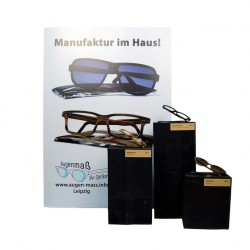 Holzbrille