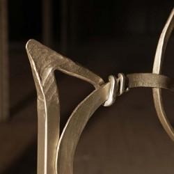 Handgeschmiedetes Metallbett