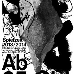 Grafische Erscheinungsbild für die Intendanz von Armin Petras am Schauspiel Stuttgart
