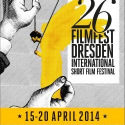 Erscheinungsbild für das 26. Filmfest Dresden International Short Film Festival 2014