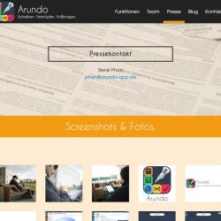 Arundo Homepage
