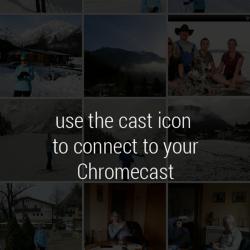 PhotoCast für Chromecast