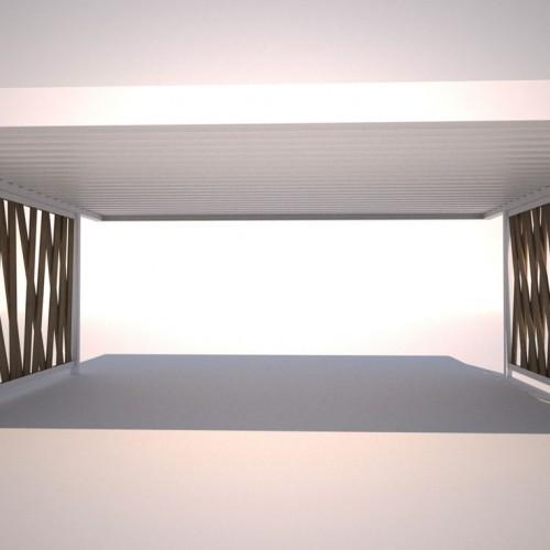 Designcarportfüllungen und Sichtschutz