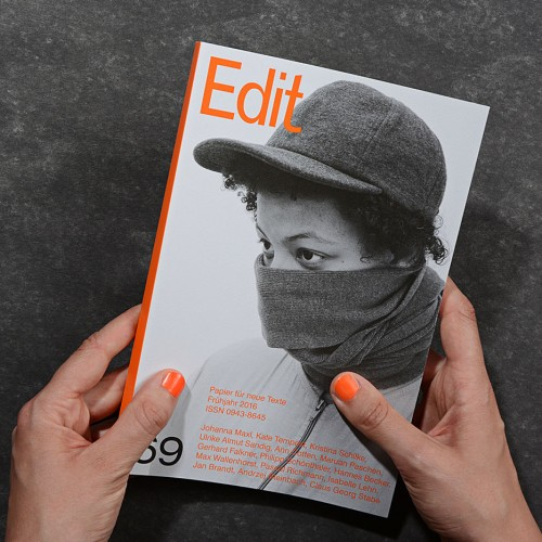 Edit – Papier für neue Texte