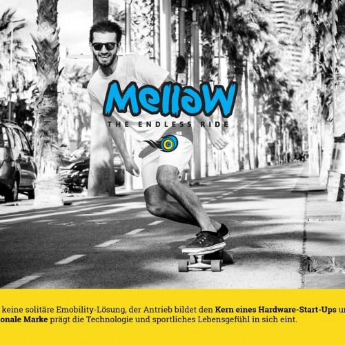 Mellow Drive – kleinste E-Mobilitylösung für die Fortbewegung im urbanen Raum