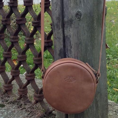 Dilians runde Handtasche Pauline