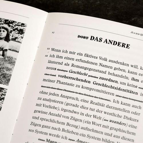 ÜBER AMAZONEN (Künstlerbuch)